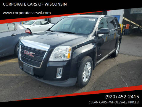 2011 GMC Terrain for sale at CORPORATE CARS OF WISCONSIN in Sheboygan WI