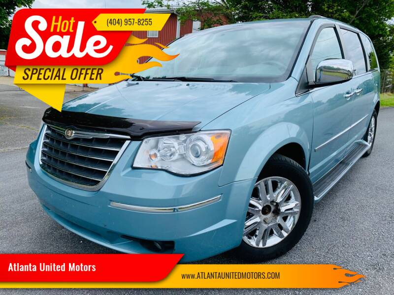 2010 Chrysler Town and Country for sale at Atlanta United Motors in Jefferson GA