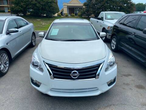 2014 Nissan Altima for sale at J Franklin Auto Sales in Macon GA