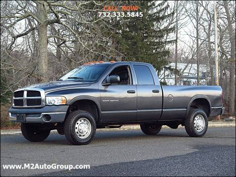 2004 Dodge Ram Pickup 2500 for sale at M2 Auto Group Llc. EAST BRUNSWICK in East Brunswick NJ