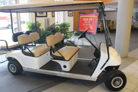 2011 E-Z-GO Gulf Cart for sale at Rancho Santa Margarita RV in Rancho Santa Margarita CA