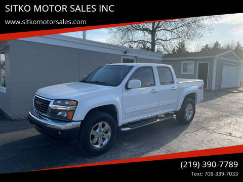 2010 GMC Canyon for sale at SITKO MOTOR SALES INC in Cedar Lake IN
