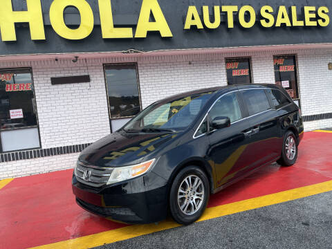 2011 Honda Odyssey for sale at HOLA AUTO SALES CHAMBLEE- BUY HERE PAY HERE - in Atlanta GA