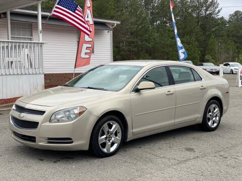 2009 Chevrolet Malibu for sale at CVC AUTO SALES in Durham NC