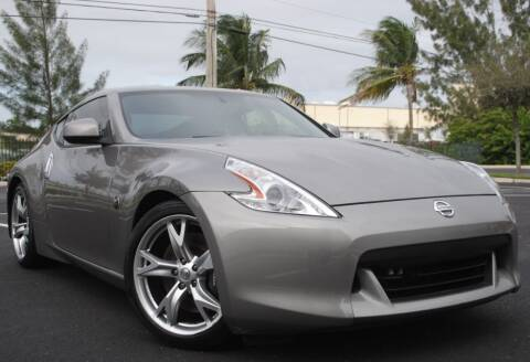 2009 Nissan 370Z for sale at Maxicars Auto Sales in West Park FL