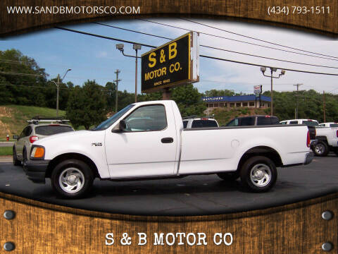 2004 Ford F-150 Heritage for sale at S & B MOTOR CO in Danville VA