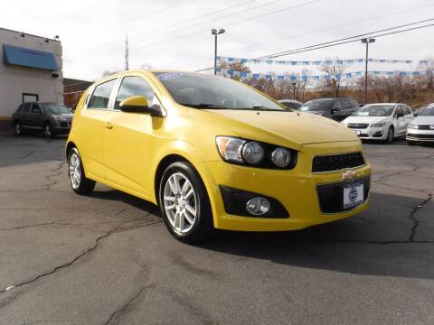 2016 Chevrolet Sonic for sale at Platinum Auto Sales in Provo UT