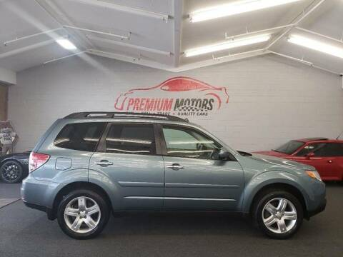 2009 Subaru Forester for sale at Premium Motors in Villa Park IL