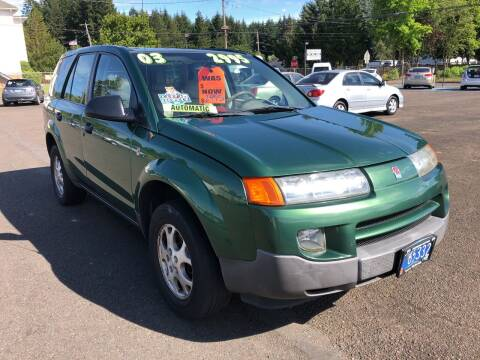 2003 Saturn Vue for sale at Freeborn Motors in Lafayette, OR