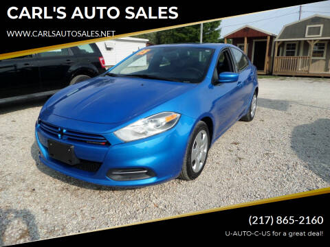 2015 Dodge Dart for sale at CARL'S AUTO SALES in Boody IL