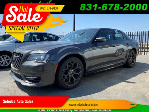 2017 Chrysler 300 for sale at Soledad Auto Sales in Soledad CA