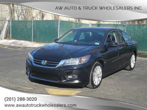 2015 Honda Accord for sale at AW Auto & Truck Wholesalers  Inc. in Hasbrouck Heights NJ