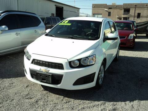 2016 Chevrolet Sonic for sale at DESERT AUTO TRADER in Las Vegas NV