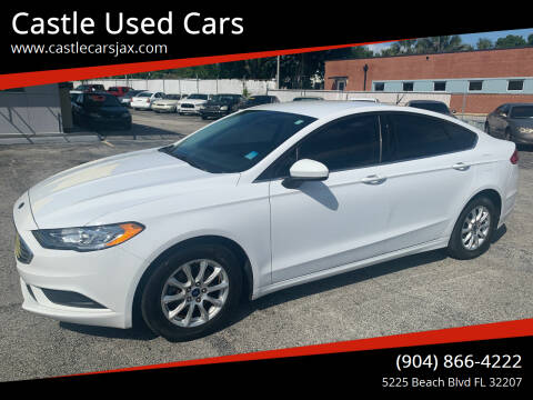 2017 Ford Fusion for sale at Castle Used Cars in Jacksonville FL