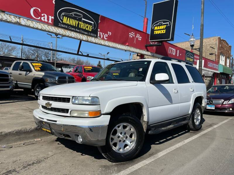 2004 Chevrolet Tahoe for sale at Manny Trucks in Chicago IL