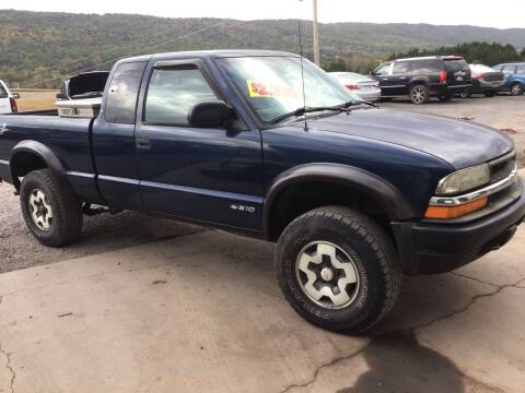 1999 Chevrolet S-10 for sale at Troys Auto Sales in Dornsife PA