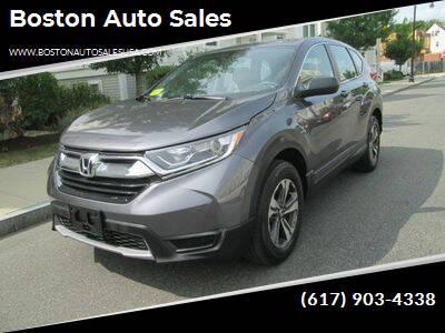 2017 Honda CR-V for sale at Boston Auto Sales in Brighton MA