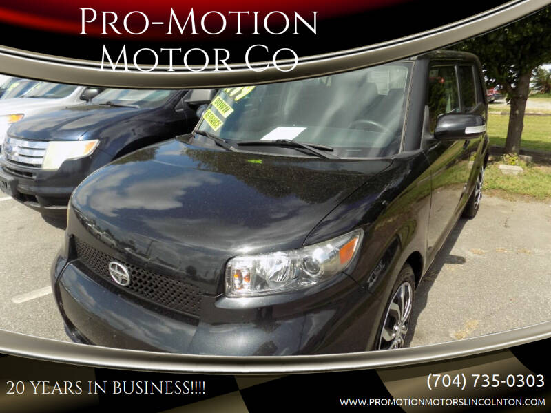 2009 Scion xB for sale at Pro-Motion Motor Co in Lincolnton NC