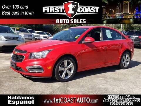 2015 Chevrolet Cruze for sale at 1st Coast Auto -Cassat Avenue in Jacksonville FL