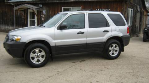 2006 Ford Escape for sale at Spear Auto Sales in Wadena MN