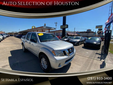 2015 Nissan Frontier for sale at Auto Selection of Houston in Houston TX
