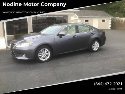2015 Lexus ES 350 for sale at Nodine Motor Company in Inman SC