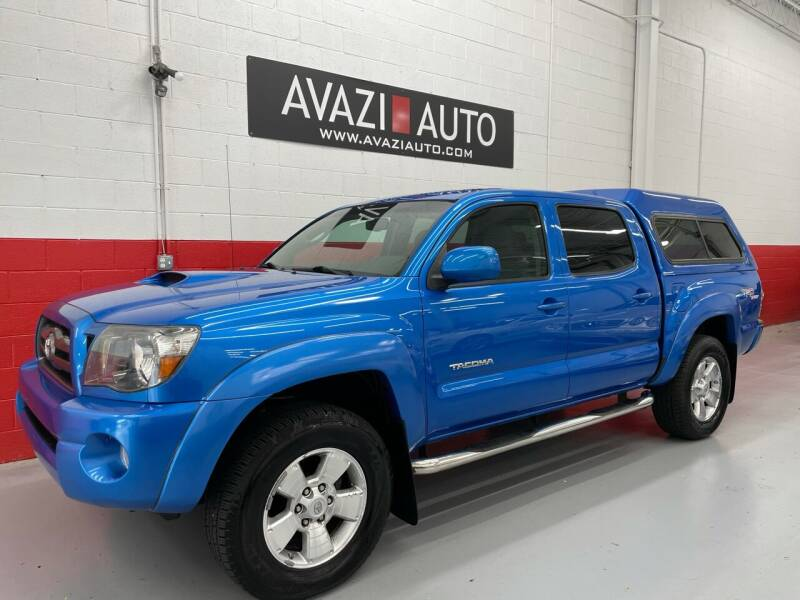 2009 Toyota Tacoma for sale at AVAZI AUTO GROUP LLC in Gaithersburg MD