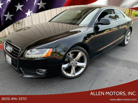 2009 Audi A5 for sale at Allen Motors, Inc. in Thousand Oaks CA