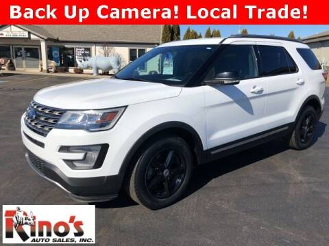 2017 Ford Explorer for sale at Rino's Auto Sales in Celina OH