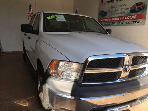 2012 RAM Ram Pickup 1500 for sale at Antonio's Auto Sales - Antonio`s  2206 in Pasadena TX