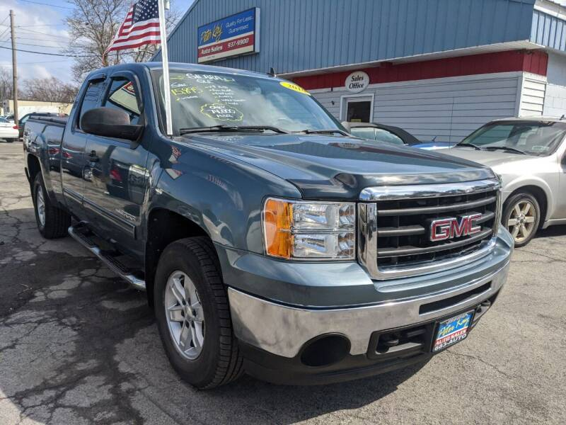 2010 GMC Sierra 1500 for sale at Peter Kay Auto Sales in Alden NY