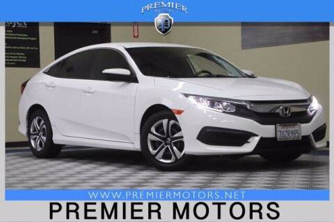 2016 Honda Civic for sale at Premier Motors in Hayward CA