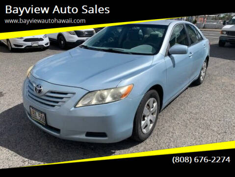 2009 Toyota Camry for sale at Bayview Auto Sales in Waipahu HI