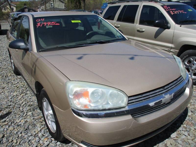 2004 Chevrolet Malibu for sale at FERNWOOD AUTO SALES in Nicholson PA