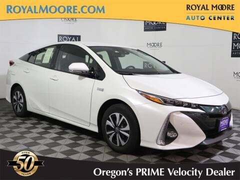 2017 Toyota Prius Prime for sale at Royal Moore Custom Finance in Hillsboro OR