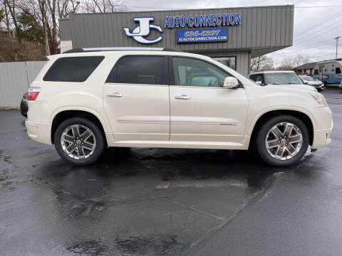 2012 GMC Acadia for sale at JC AUTO CONNECTION LLC in Jefferson City MO