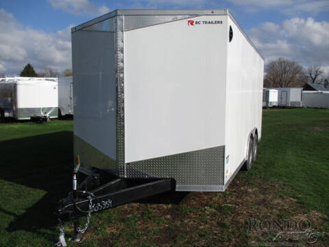 2021 RC Trailers Enclosed Car Hauler RDLX 8.5X1 for sale at Rondo Truck & Trailer in Sycamore IL