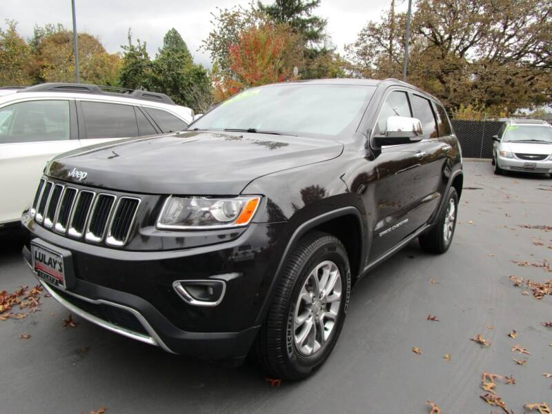 2016 Jeep Grand Cherokee for sale at LULAY'S CAR CONNECTION in Salem OR