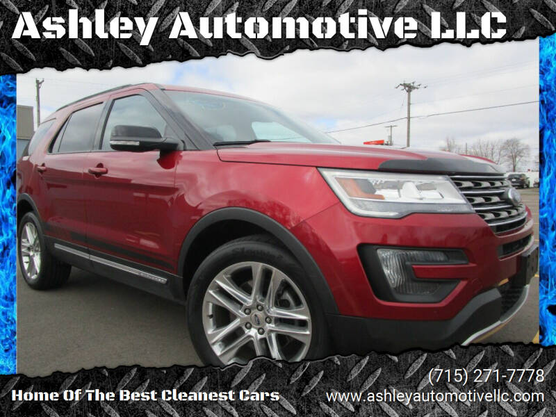 2016 Ford Explorer for sale at Ashley Automotive LLC in Altoona WI