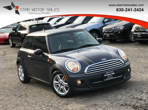 2012 MINI Cooper Hardtop for sale at Star Motor Sales in Downers Grove IL