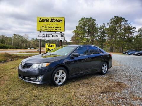 2012 Toyota Camry for sale at Lewis Motors LLC in Deridder LA