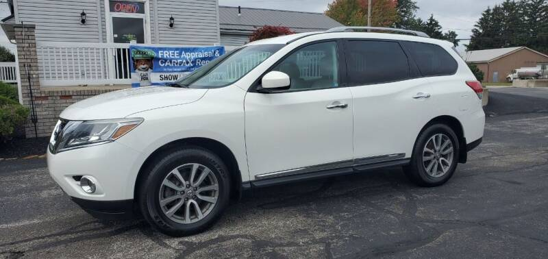 2014 Nissan Pathfinder for sale at RBT Automotive LLC in Perry OH