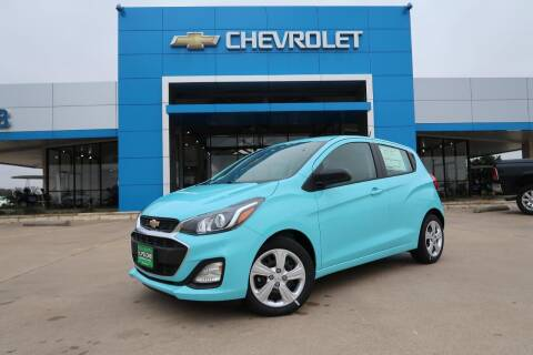 2021 Chevrolet Spark for sale at Lipscomb Auto Center in Bowie TX