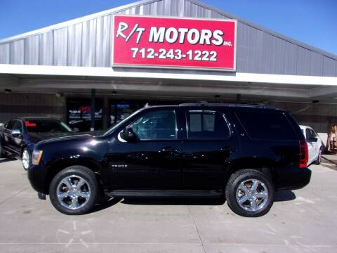2013 Chevrolet Tahoe for sale at RT Motors Inc in Atlantic IA