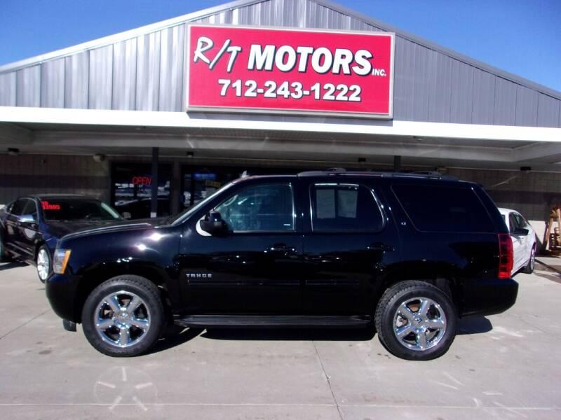 2013 Chevrolet Tahoe for sale at RT Motors Inc in Atlantic IA