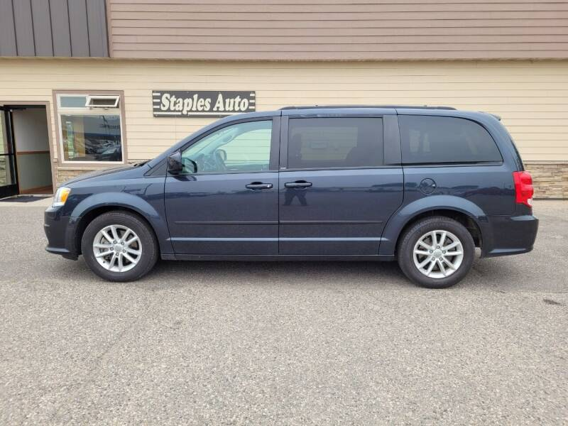 2014 Dodge Grand Caravan for sale at STAPLES AUTO SALES in Staples MN