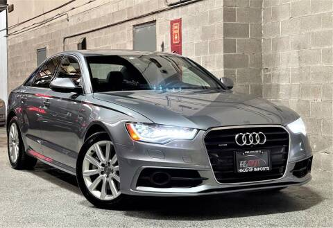 2013 Audi A6 for sale at Haus of Imports in Lemont IL
