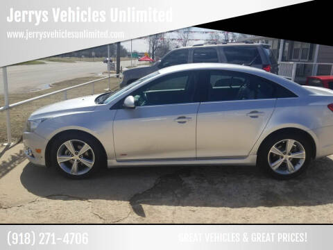 2014 Chevrolet Cruze for sale at Jerrys Vehicles Unlimited in Okemah OK