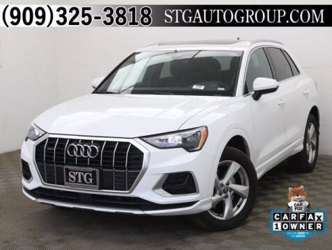 2020 Audi Q3 for sale at STG Auto Group in Montclair CA