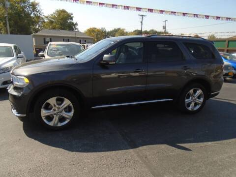 2014 Dodge Durango for sale at River City Auto Sales in Cottage Hills IL